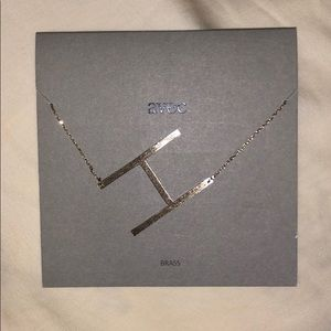 """""""H"""" Necklace Brand New"""